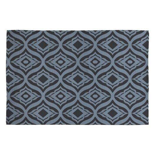 DENY Designs Heather Dutton Dusk Trevino Black/Gray Geometric Area Rug