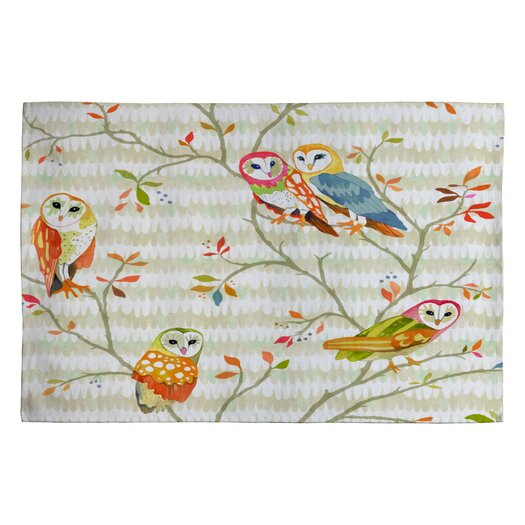 DENY Designs Betsy Olmsted Owl Tree 2 Novelty Rug