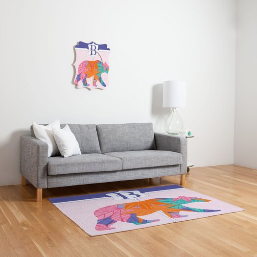 DENY Designs Jennifer Hill Miss Bear Kids Rug