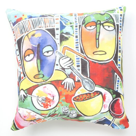DENY Designs Robin Faye Gates I Should Give Relish a Try Throw Pillow