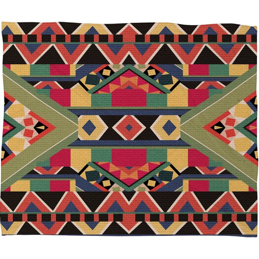 DENY Designs Bianca Green Bold Throw Blanket