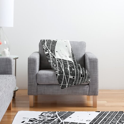 DENY Designs CityFabric Inc NYC Midtown Throw Blanket