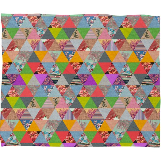 DENY Designs Bianca Green Lost in Pyramid Throw Blanket