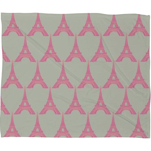 DENY Designs Bianca Green Oui Oui Throw Blanket