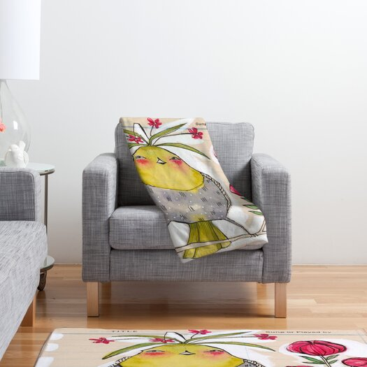 DENY Designs Cori Dantini Sweetness And Light Throw Blanket