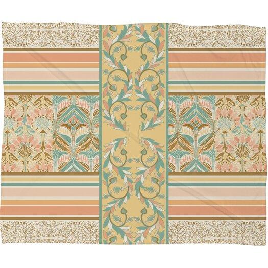 DENY Designs Jacqueline Maldonado Vintage Stripe Throw Blanket