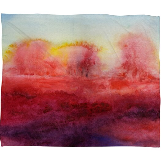 DENY Designs Jacqueline Maldonado Where I End Throw Blanket