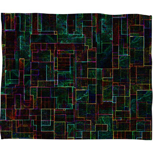DENY Designs Jacqueline Maldonado Matrix Throw Blanket