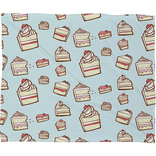 DENY Designs Jennifer Denty Cake Slices Throw Blanket