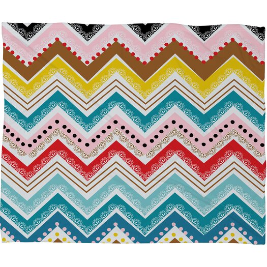 DENY Designs Khristian A Howell Nolita Chevrons Throw Blanket