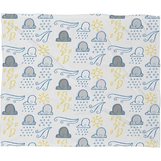 DENY Designs Jennifer Denty Clouds Throw Blanket