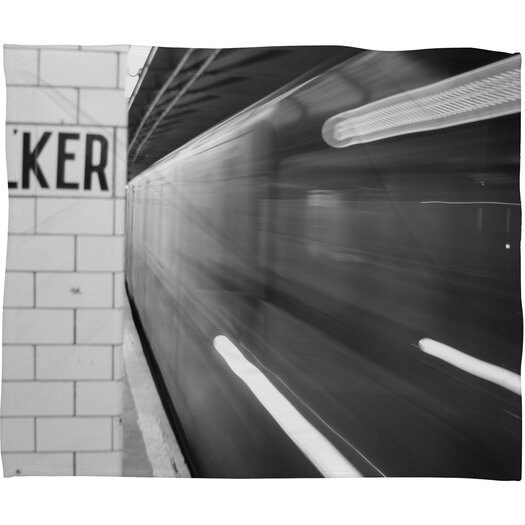 DENY Designs Leonidas Oxby The Subway Throw Blanket