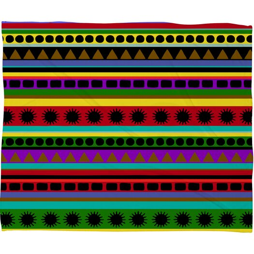 DENY Designs Romi Vega Heavy Pattern Throw Blanket