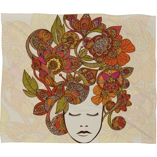 DENY Designs Valentina Ramos Its All in Your Head Throw Blanket