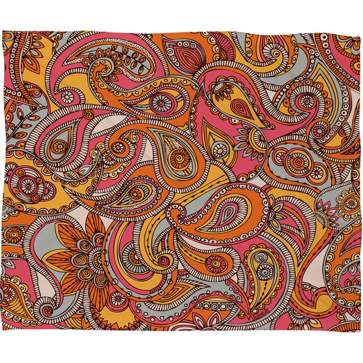 DENY Designs Valentina Ramos Spring Paisley Throw Blanket