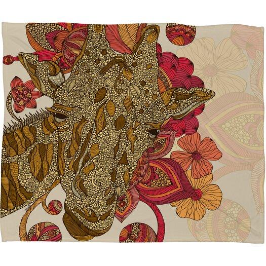 DENY Designs Valentina Ramos The Giraffe Throw Blanket