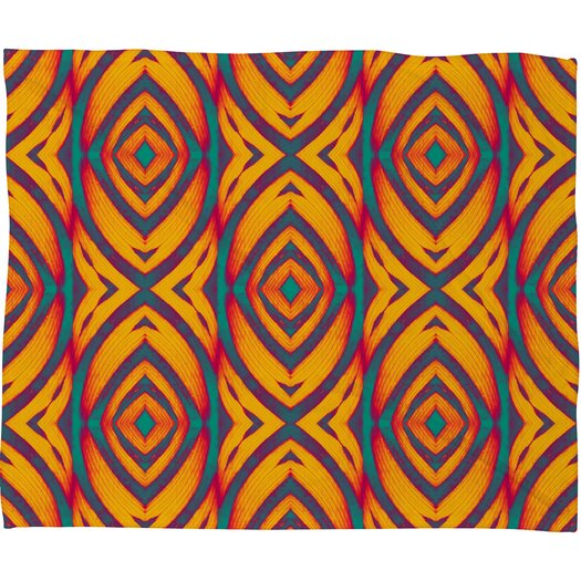 DENY Designs Wagner Campelo Maranta Throw Blanket