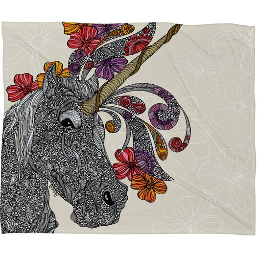 DENY Designs Valentina Ramos Unicornucopia Throw Blanket