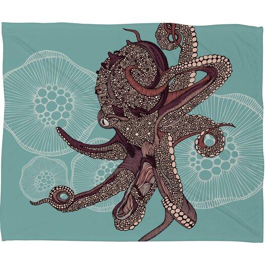DENY Designs Valentina Ramos Octopus Bloom Throw Blanket