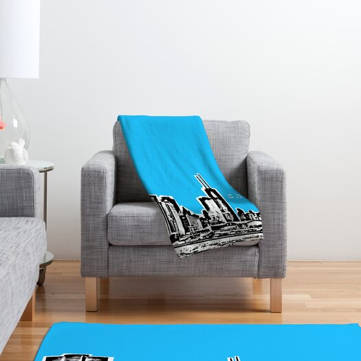 DENY Designs Bird Ave Chicago Throw Blanket