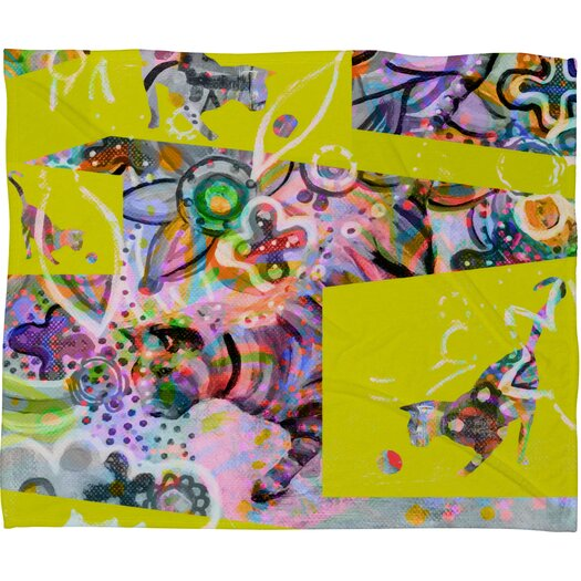 DENY Designs Randi Antonsen Cats 4 Throw Blanket