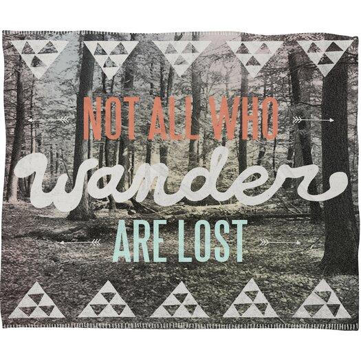 DENY Designs Wesley Bird Wander Throw Blanket