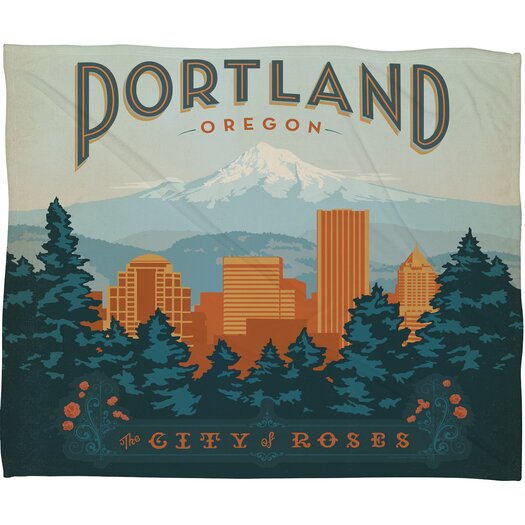 DENY Designs Anderson Design Group Portland Throw Blanket