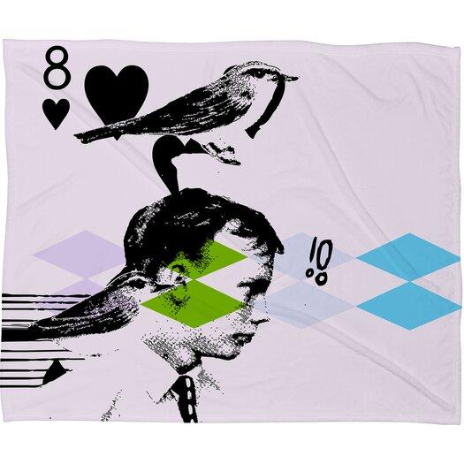 DENY Designs Randi Antonsen Poster Hero 2 Throw Blanket