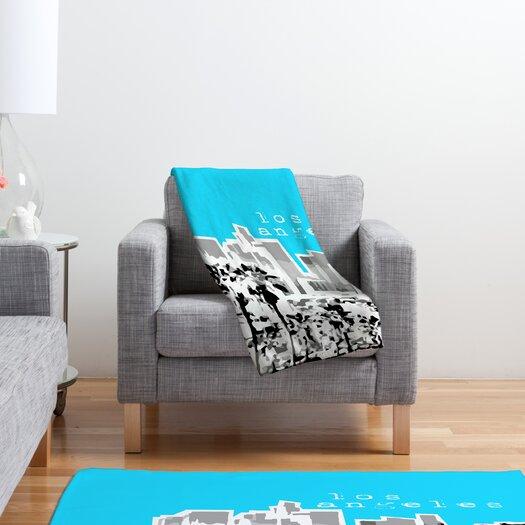 DENY Designs Bird Ave Los Angeles Throw Blanket