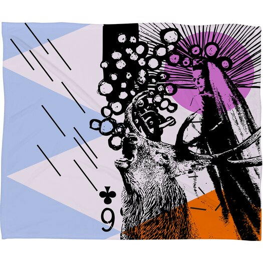 DENY Designs Randi Antonsen Poster Hero 3 Throw Blanket