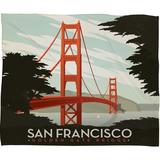 DENY Designs Anderson Design Group San Francisco Throw Blanket