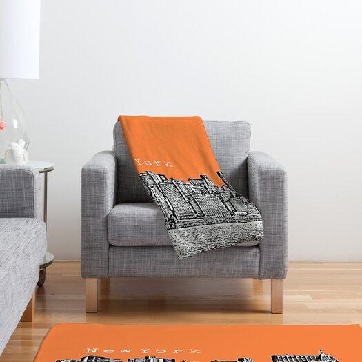 DENY Designs Bird Ave New York Throw Blanket