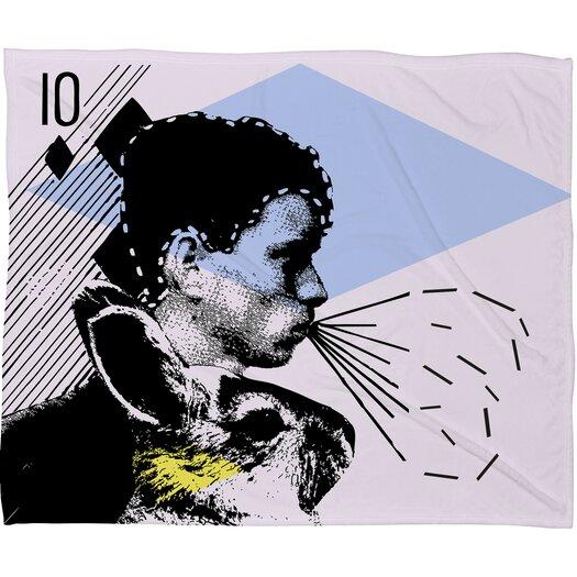 DENY Designs Randi Antonsen Poster Hero 1 Throw Blanket