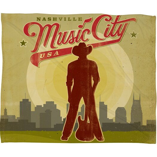 DENY Designs Anderson Design Group Music City Throw Blanket