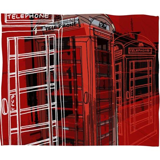 DENY Designs Aimee St Hill Phone Box Throw Blanket