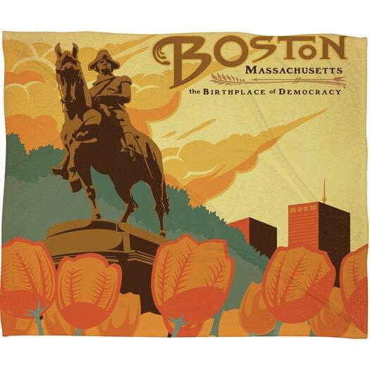 DENY Designs Anderson Design Group Boston Throw Blanket