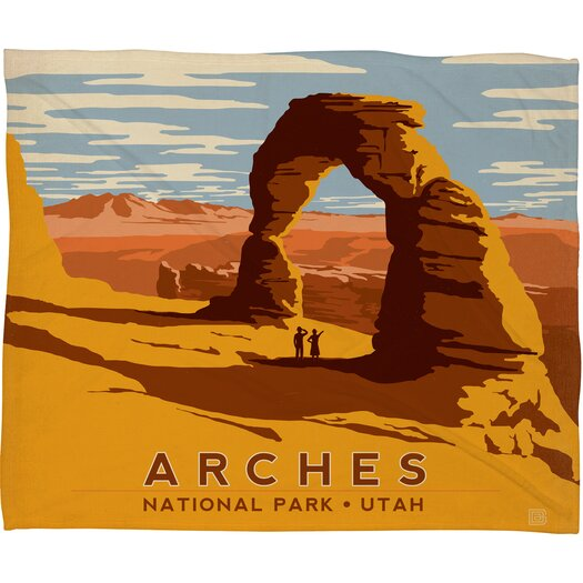 DENY Designs Anderson Design Group Arches Throw Blanket