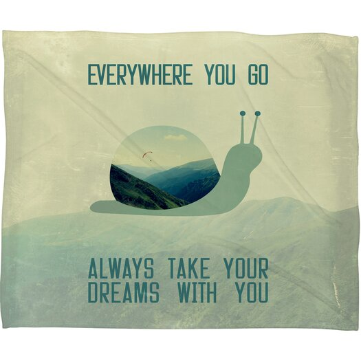 DENY Designs Belle13 Always Take Your Dreams With You Throw Blanket