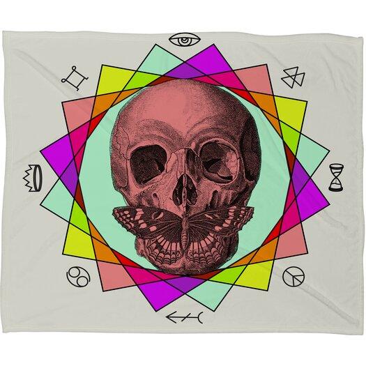 DENY Designs Wesley Bird True Sign Art Throw Blanket