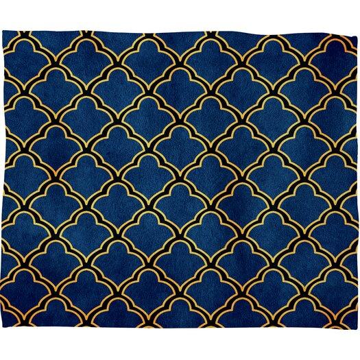 DENY Designs Arcturus Quatrefoil Throw Blanket