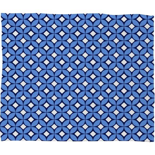 DENY Designs Caroline Okun Blueberry Throw Blanket