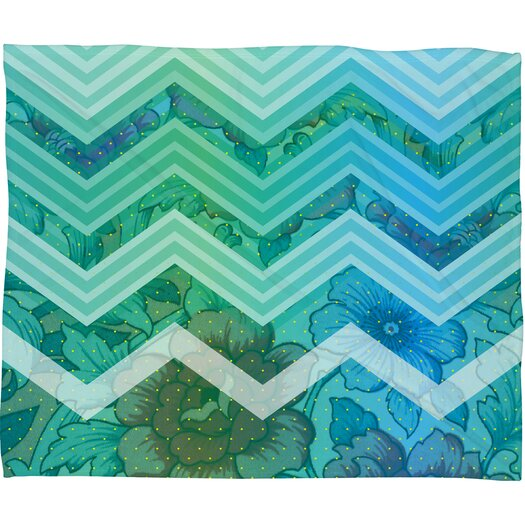 DENY Designs Gabi Azul Throw Blanket