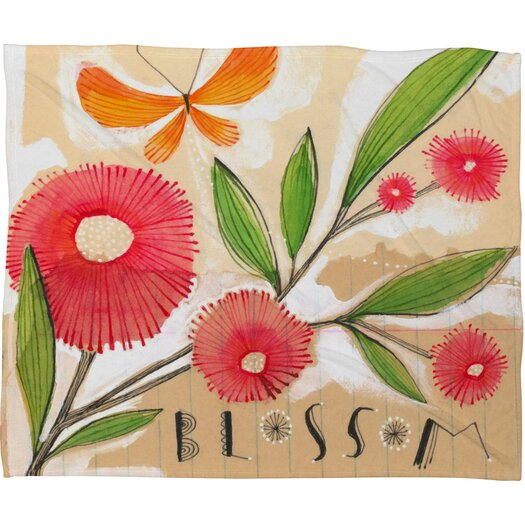 DENY Designs Cori Dantini Blossom 1 Throw Blanket