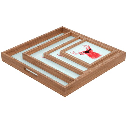 DENY Designs Nick Nelson Young Buck Square Tray