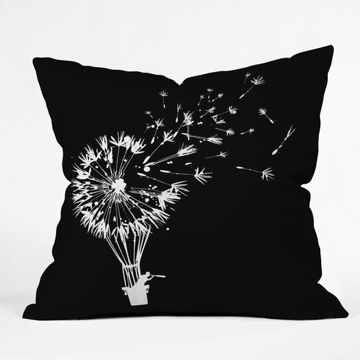 DENY Designs Budi Kwan Going Where The Wind Blows Throw Pillow