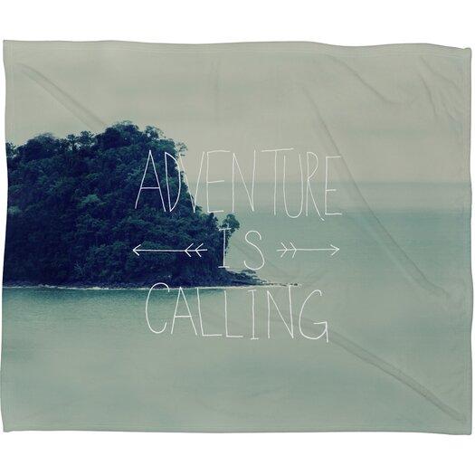 DENY Designs Leah Flores Adventure Island Throw Blanket