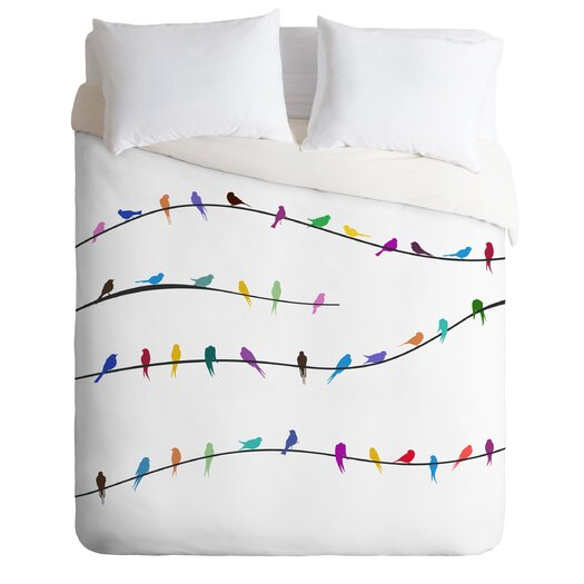 DENY Designs Belle 13 Happy Spring Duvet Cover Collection