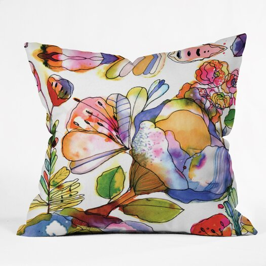 DENY Designs CayenaBlanca Blossom Pastel Throw Pillow
