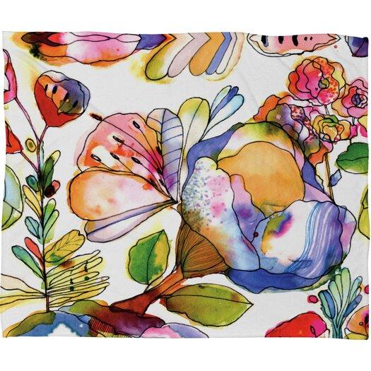 DENY Designs CayenaBlanca Blossom Pastel Throw Blanket