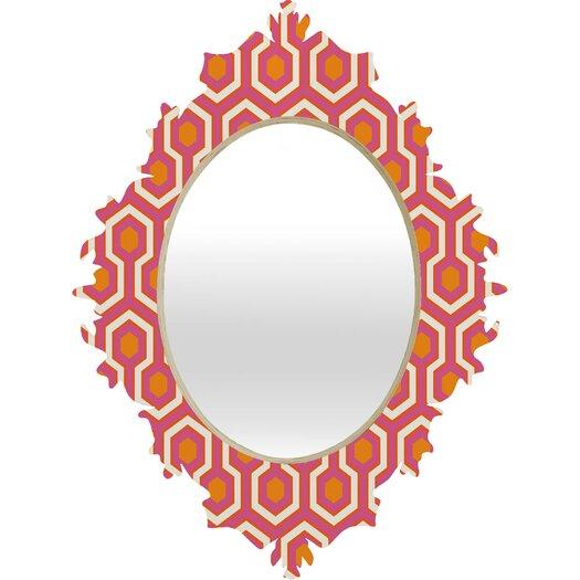 DENY Designs Caroline Okun Zest Baroque Mirror